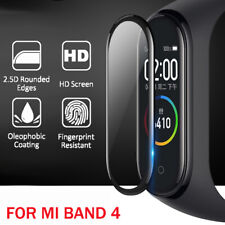 2Pcs Full Cover Tempered Glass Screen Protector For Xiaomi Mi Band 4 Smart Watch