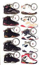 *CHOOSE ANY 3*AIR JORDAN VII 7 RETRO OLYMPIC MIRO SNEAKERS SHOES KEY CHAIN RING