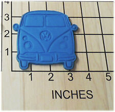 Hippy 60's Volkswagen Bus/ Van /VW Bus shape Cookie Cutter and Stamp 1149