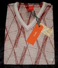 Boss Hugo Boss Tint1 Orangelabel Modische T-Shirt Hemd Sommerleicht Gr.M Natur