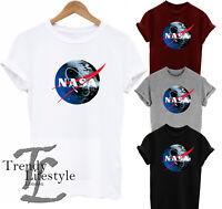 NASA DEATH SPACE LOGO STAR WARS GALACTIC EMPIRE TRENDY KIDS BOYS UNISEX T-SHIRT