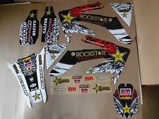 ROCKSTAR PRO TEAM SERIES  GRAPHICS HONDA   PTS CRF250X