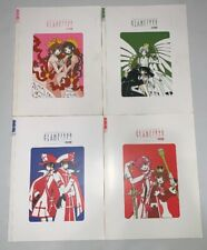 Tokyopop The Exhibition of Clamp's Works 1989-2004 Vol. 1-4 Japanese Anime Manga