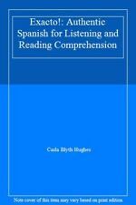 Exacto!: Authentic Spanish for Listening and Reading Comprehension,Carla Blyth