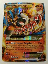 Premium Trainer/'s XY Collection NM-Mint Po 1x M Camerupt-EX Alt Art - XY198a