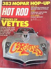 Hot Rod Magazine Corvettes Endura Nose Swap July 1973 082017nonrh2