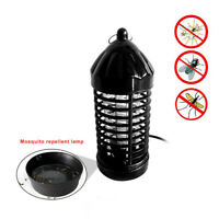 220v/110v Electric Mosquito Fly Bug Insect Zapper Killer With Trap Lamp EU/US ah