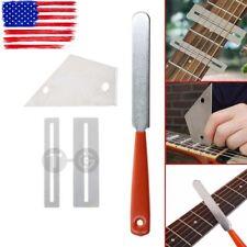 Guitar Fret Crowning File Leveling Grinding Tool Shim Kit for Guitarist Luthier