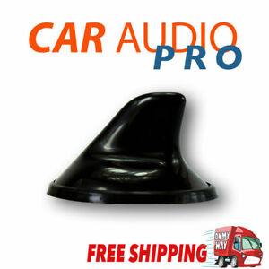 Car Black Radio Shark Fin Antenna Amplified Opel Astra Hatchback Universal AM FM