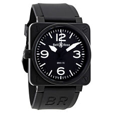 Bell and Ross Aviation BR01-92-Carbon Automatic Mens Watch BR01-92-SL