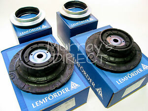 PAIR Lemforder OEM Top Suspension Strut Mounts & Bearings  VW T5 Transporter Van
