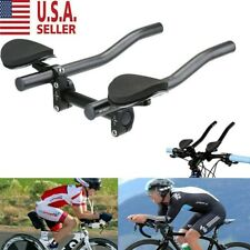 Alloy Triathlon Aero Bicycle Rest Handle Bars Handlebar Road Bike Mountain J7R6