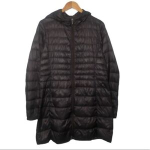 Uniqlo Packable Down Feather Puffer Jacket Womens Medium