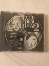 The Real Deal 2 Classic Card Games PC CD-ROM Mindscape TLC for Windows 95/98