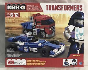 2014 Hasbro Kre-O Transformers OPTIMUS PRIME & MIRAGE Set B2308