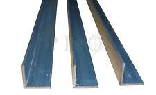 ( Lot de 3 ) Cornière Aluminium Brut 30x30mm Epai 2mm Long 1m et 0.99mètre