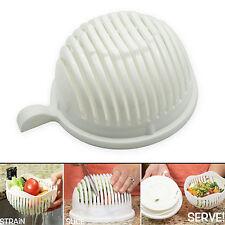60 Seconds Salad Maker Bowl Cutter Slicer Easy to Make Salad Tool