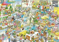 The Holiday Fair Jan van Haasteren 1000 Piece Cartoon Jigsaw Puzzle by Jumbo JVH