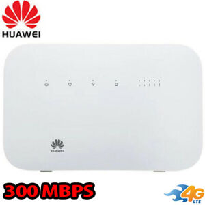 Huawei b612-51 WiFi  Router 4G LTE GSM UNLOCKED AT&T Tmobile Verizon Claro Latin