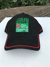 NOS NEW OLD STOCK BASEBALL CAP Wales Rally GB 2012 Officials WRC
