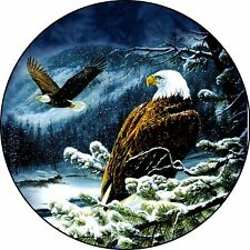 Eagle #2 Eagles Snow Spare Tire Cover Jeep Rv camper & more(all sizes available)