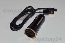 CALIDAD CARGADOR DE COCHE + con USB iPhone x 10 8 7 6s Plus 5se 5c 2xusb 3,4a