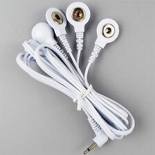4in1 Reizstrom Elektroden Kabel 2.5mm (Druckknopf) | EMS / TENS / E-STIM / ESTIM