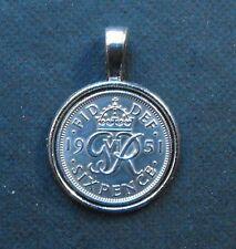 1948 70th Compleanno Fortuna Sei Pence Ciondolo Pendente Anniversario Di Matrimonio Regalo Royal