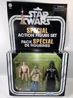 Kenner Star Wars 3.75 Vintage CAVE OF EVIL Special Action Figure Set New Box