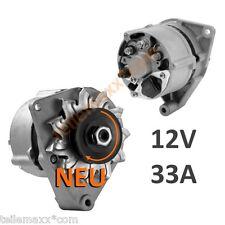 Lichtmaschine 12V - 33A  KHD DEUTZ LINDE SAME BOSCH VGL-NR 0120339531 0120339514