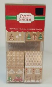 Count Down To Christmas Advent Calendar New!!!