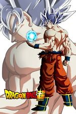 Dragon Ball Super Poster Goku Ultra with Logo 12inx18in Free Shipping