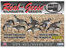 REAL GEESE PRO III CANADA GOOSE SILHOUETTE DECOYS