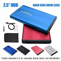 "USB 2.0 PATA 2.5"" Inch Hard Drive External Enclosure HDD Mobile Disk Box Case"