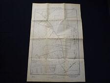 Mappa della città 1:4000 Berlino ivhd-o Weißensee, dorfstr., ortnitstr., ullerplatz, 1937