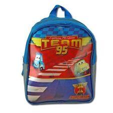 "Backpack 11"" Disney Cars Guido Luigi Lightning McQueen Team 95 Lenticular New"