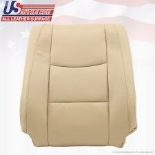Fit 2003 Lexus GX470 Driver Side Lean Back Replacement Leather Seat Cover Tan