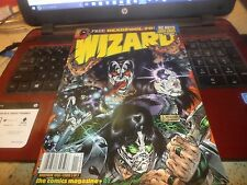 Wizard Magazine #87 ( 1998 ) KISS COVER / Unsealed /