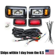 Club Car DS Halogen Headlight LED Tail Light Kit 1982 & Up Golf Cart Lights