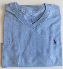 Boys Ralph Lauren Light Blue Long Sleeve Cotton T-Shirt 10-12yr 14-16yr 18-20yr