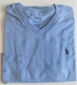 Boys Ralph Lauren Light Blue Long Sleeve Cotton T-Shirt- 14-16yrs CLEARANCE