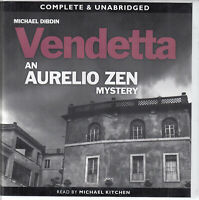 Michael Dibdin Vendetta Aurelio Zen 2 8CD Audio Book NEW Unabridged Crime