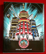DR WHO & THE DALEKS - FULL BASE SET + Official Trading Card Binder - Unstoppable
