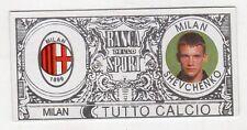 figurina - TUTTO CALCIO EURO MONETE  - MILAN SHEVCHENKO