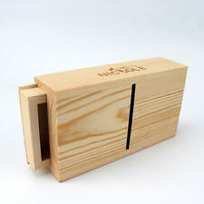 Loaf Soap Trim Tools Wooden Box With Metal Blade DIY Trimming Polishing Device