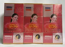New Costar Sheep Placenta Extract 35000mg 3 Bottles Pack of 100 capsules Each