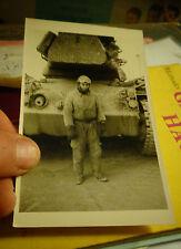 Ancien Tank Blindé Char Américain M47 patton