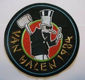 "Van Halen 1984 Album Rock & Roll~Embroidered Patch~4 1/2"" Round~Iron or Sew On"