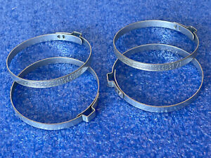 NEW GENUINE FORD ESCORT SIERRA RS COSWORTH REAR CV JOINT BOOT CLAMPS X 4  NOS