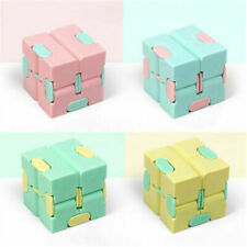 Sensory Infinity Cube Stress Fidget Toys Autism Anxiety Relief Kids Adults